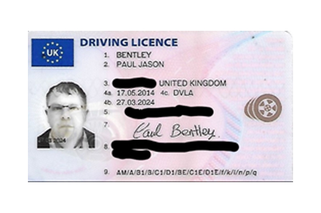 Driving Licence Information